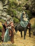 Portail de scène de Bethlehem Photographie stock libre de droits