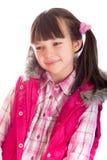 Portait de la chica joven feliz Imagen de archivo