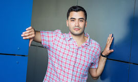 Portait of gorgeous turkish man Stock Photography