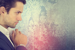 Portait of an handsome businessman Stock Photography
