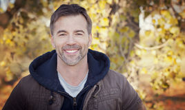Portait Of Handsome Man Smiling royalty free stock photo