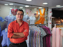Free Portait Of A Retail Store Owner Stock Photos - 14208823