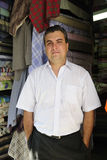 Portait of a retail store owner. Portait of a proud and confident retail store owner stock photography