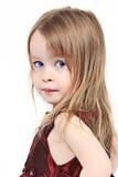 Portait van jong meisje stock foto