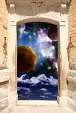 Portal ilustração royalty free