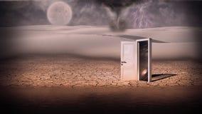 portal imagem de stock
