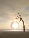 Portal ao outro mundo ilustração do vetor