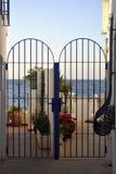 Portal ao paraíso do mar Fotos de Stock Royalty Free