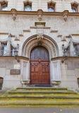 Portal av kyrkoherdet Office (1904) av det Lodz universitetet av teknologi Arkivfoton