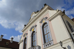 Portal Building of Elizabeth Palace in Gödöllö, Hungary Stock Photography
