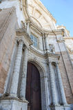 Portal of the Cathedral of Cadiz, Spain Stock Image