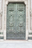 Portal Cathedral Florence Royalty Free Stock Photos