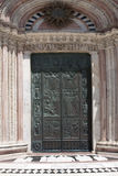 Portal Cathedral of Siena Royalty Free Stock Photos