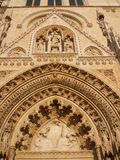 Portal - Cathedral of Zagreb Stock Photo