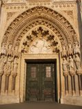 Portal - Cathedral of Zagreb Royalty Free Stock Image