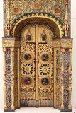 Portal of a church Royalty Free Stock Images