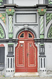 Portal of Cranach house in Weimar Royalty Free Stock Photo