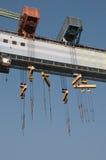Portal crane Royalty Free Stock Images