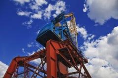 Portal crane Royalty Free Stock Image