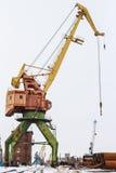Portal crane Royalty Free Stock Photo