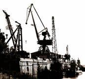 Portal Cranes stock photos