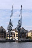 Portal Cranes Stock Images