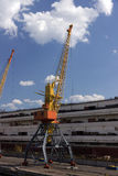Portal cranes, Ukraine. Odessa Royalty Free Stock Photography