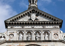 Portal of Cremona Cathedral, Cremona, Italy Royalty Free Stock Photos