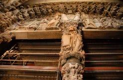 Portal da catedral Foto de Stock