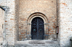 Portal da igreja Imagem de Stock Royalty Free