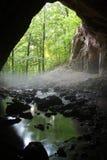 Portal de la cueva Fotografía de archivo