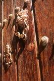 Portal de madera masivo Fotos de archivo libres de regalías