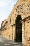 Portal de Sant Antoni dans les murs de Tarragona Photos libres de droits