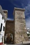 Portal de Sant Roc, Mahon, Menorca , Spain Royalty Free Stock Image
