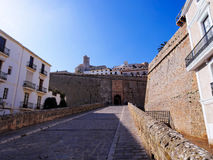 Portal de ses Taules in Ibiza Town Royalty Free Stock Photo