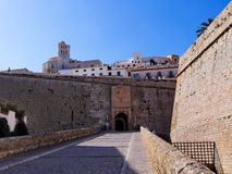 Portal de ses Taules in Ibiza Town Stock Images