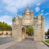 Portal de Taconera in Pamplona, Spain Stock Photo