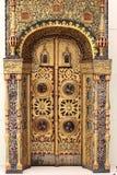 Portal de uma igreja Imagens de Stock Royalty Free