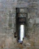 Portal defensivo del fuerte de Kangra de la arquitectura de la India Imagen de archivo
