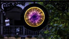 Portal del tiempo Foto de archivo libre de regalías