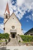 Portal der Gemeindekirche in St. Pankraz Lizenzfreie Stockfotografie