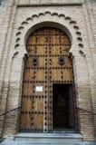 Portal der Kirche Stockfoto
