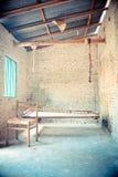 Portal des alten Hauses Stockbild