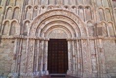 Portal des Santa Maria della Marktplatzes - Ancona Lizenzfreies Stockbild