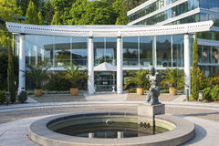 Portal do Caracalla-Therme em Baden-Baden foto de stock royalty free