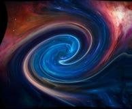 Portal do espaço Universo fotografia de stock