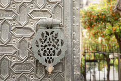 Portal el Perdon Entrance, Seville Cathedral, Spain Royalty Free Stock Images