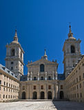 Portal of Escorial Stock Image