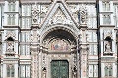 Portal Florencja katedra Zdjęcie Royalty Free
