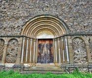 Portal gótico imagens de stock royalty free